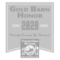 Edson Hill Stowe 2020 Gold Barn Honor